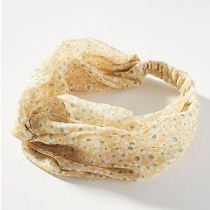 Anthropologie Della Twist headband